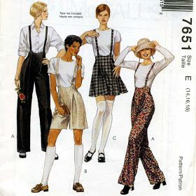 Fashion Sewing, Diy Fashion, Ideias Fashion, Queer Fashion, Skirt Patterns Sewing, Vintage Sewing Patterns, Skirt Sewing, Pattern Skirt, Coat Patterns