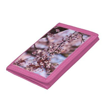 Japanese Cherry Blossom Tree Plant Love Botanical Tri Fold Wallets Floral Gifts Flower Flowers Gift Ideas Cherry Blossom Tree Cherry Blossom Trees To Plant