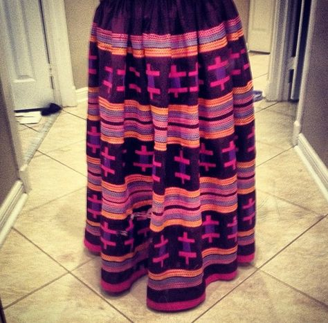 Skirt. With turtle patchwork.