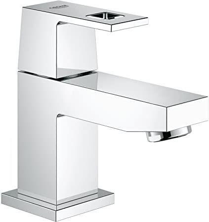 Grohe 23137000 Eurocube Pillar Tap Xs Grohe Bathroom Faucets Waterfall Brass Sink