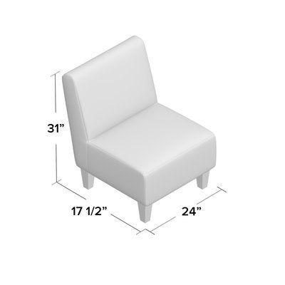 Mistana Zoe Slipper Chair | Chair upholstery, Stylish chairs