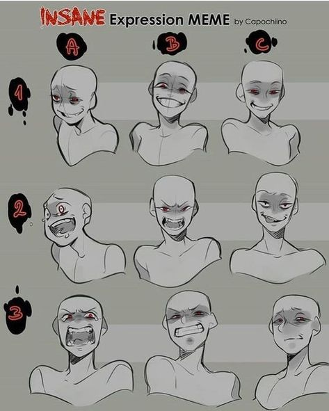 Uplifting Learn To Draw Faces Ideas. Incredible Learn To Draw Faces Ideas. Drawing Face Expressions, Anime Expressions, Anime Face Drawing, Anime Drawings Sketches, Manga Illustrations, Funny Drawings, Poses References, Drawing Reference Poses, Hair Reference