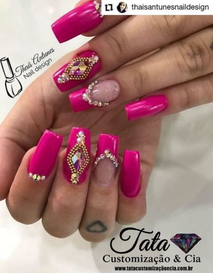 New Nails Pretty Colors Nailart Ideas