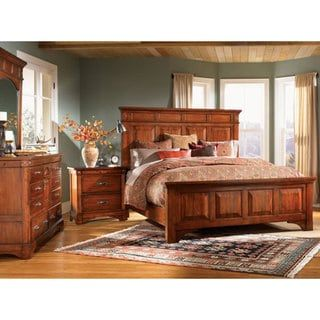 Simply Solid Ike Solid Wood 6 Piece Queen Bedroom Collection In 2020 Bedroom Sets Queen Country Bedroom Furniture Furniture