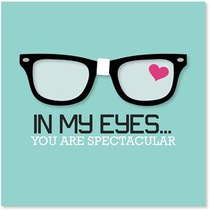 Silhouette Design Store: nerd heart eyeglasses
