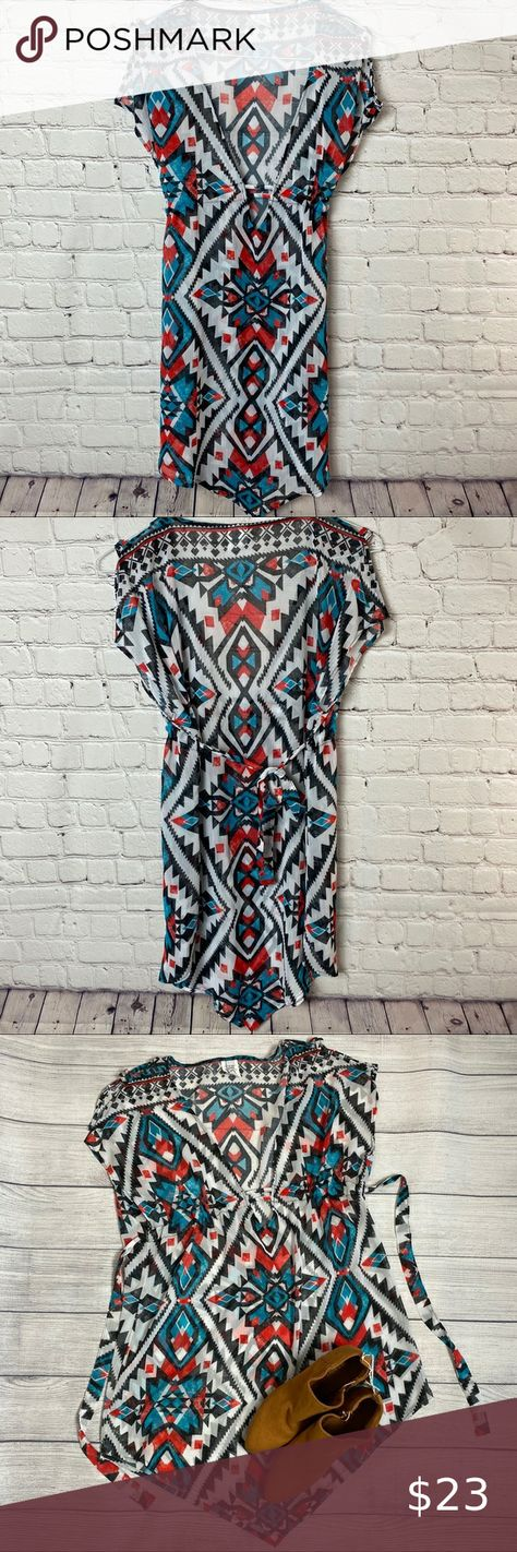 Becca swimsuit coverup red teal black white colors Beautiful Aztec design tie back. Swimsuit cover up. Preowned excellent condition. Size xs BECCA Swim Coverups  Best Picture For  swimsuit photoshoot  For Your Taste  You are looking for something, and it is going to tell you exactly what you are looking for, and you didn't find that picture. Here you will find the most beautiful picture that will fa... #Aztec #beautiful #Becca #Black #colors #coverup #design #Red #Swimsuit #teal #Tie #white