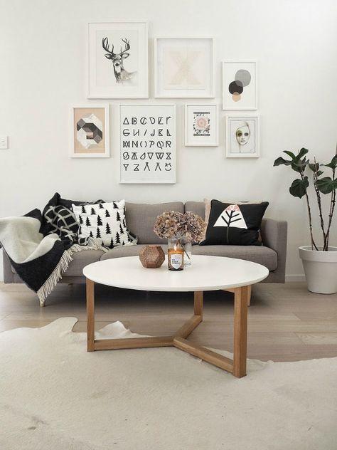 La composición perfecta para la pared de encima del sofá   La Garbatella: blog de decoración de estilo nórdico, DIY, diseño y cosas bonitas.