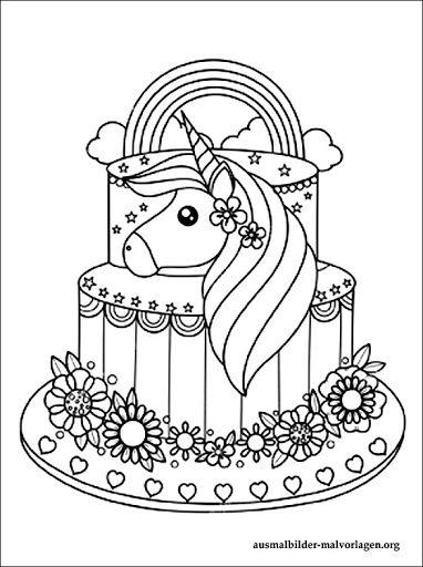 Mandala Kuchen Ausmalen Google Suche Ausmalbilder Einhorn Ausmalbilder Ausmalen