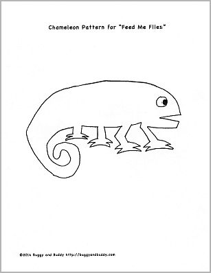 Fine Motor and Math Game for The Mixed Up Chameleon by