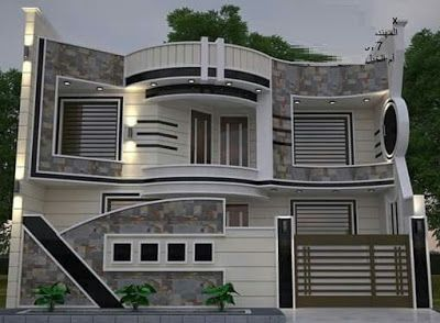 Modern House Front Design Ideas Exterior Wall Decoration Trends