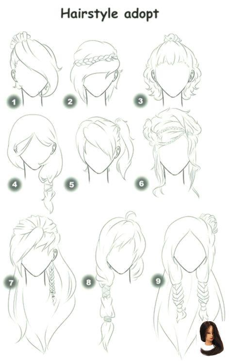 Drawing Ideas Pencil Sketch Fashion Haar Ideen Referenz Skizzen Super Tutorial Super Fashion Sketche Frisuren Zeichnen Zeichnungen Von Haaren Haarkunst