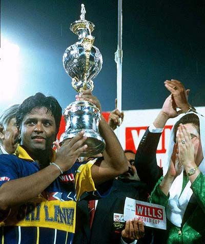 Each Cricket World Cup Has A History And Story And Has The 1996 World Cup Which Marked The First World Cup Victory For Sr World Cup Cricket World Cup Sri Lanka