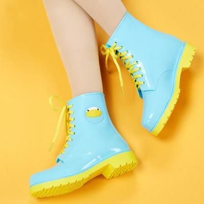 Pastel Rainboots : Transparent Martin candy colors waterproof rain boots on Storenvy Pastel Fashion, Kawaii Fashion, Cute Fashion, Fashion Shoes, Fashion Outfits, Emo Fashion, Korean Fashion, Kawaii Shoes, Kawaii Clothes