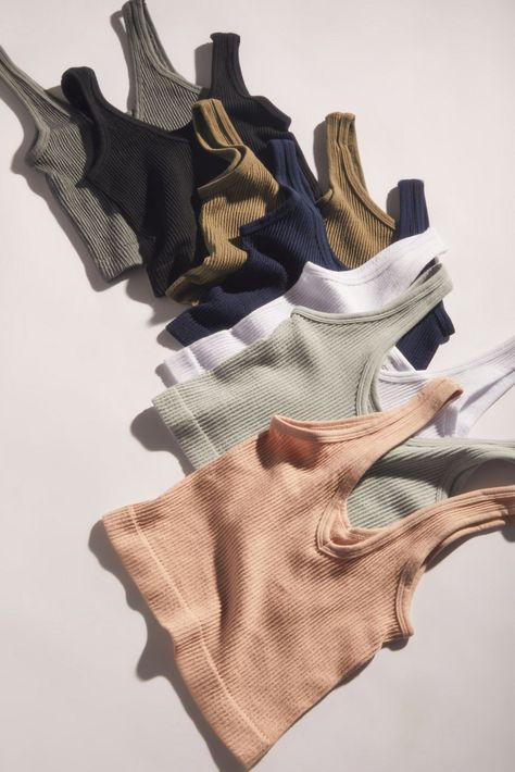 Shop Out From Under Drew Seamless Ribbed Bra Top at Urban Outfitters today. Casual Outfits, Summer Outfits, Cute Outfits, Fashion Outfits, Fashion Tips, Beautiful Outfits, Girl Outfits, Lounge Outfit, Lounge Wear