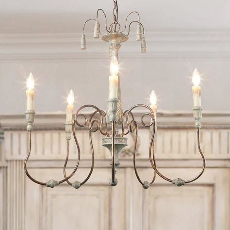 LNC 5 Light Chandeliers French Country Chandelier Lighting Pendant Lights