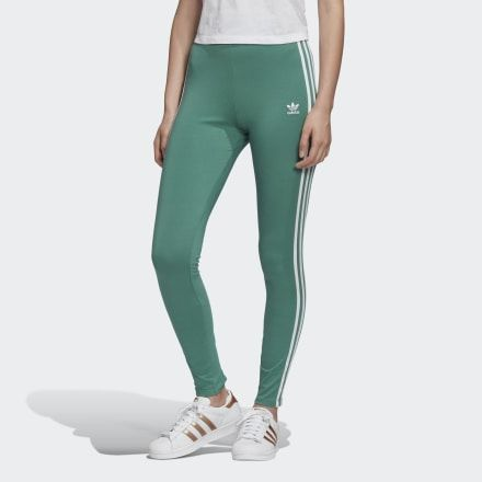 adidas Adicolor 3-Stripes Tights in 2020 | Striped tights ...