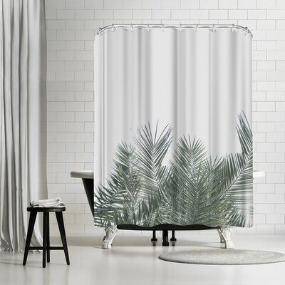East Urban Home Single Shower Curtain In 2020 Tropical Shower Curtains Home Decor East Urban Home