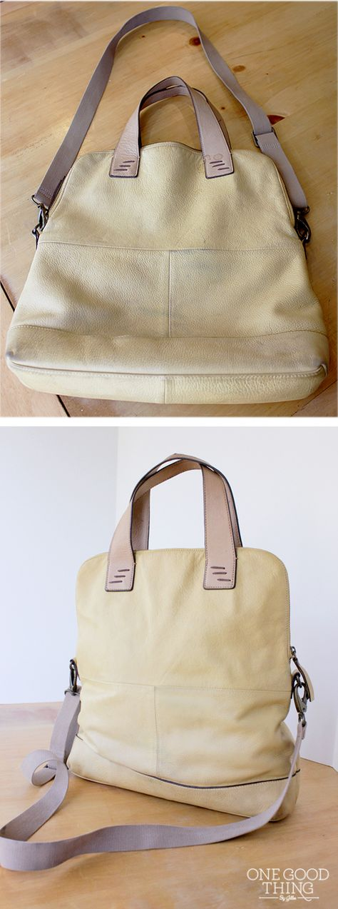 How To Wash A Leather Purse!