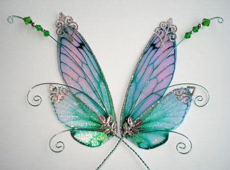 Schmetterlingflügel aus Stoff 200 cm Faschingsflügel