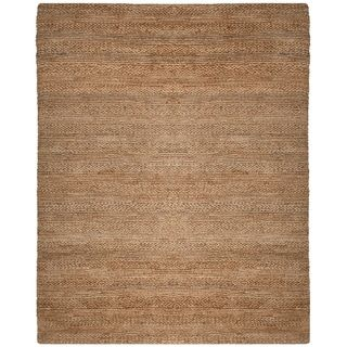 Safavieh Handmade Natural Fiber Haven Jute Rug 10 X 14 Natural Brown Jute Rug Soft Jute Rugs Natural Fiber Rugs
