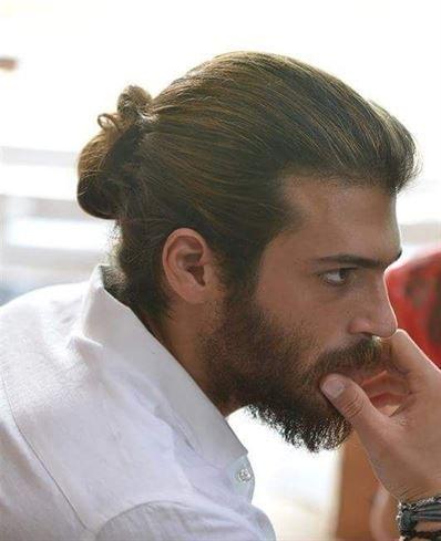 35 Beautiful Hairstyles Man Bun Curly Hair Crazy Hair Boys Man Ponytail