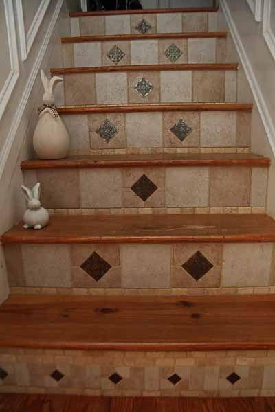 Les 12 meilleures images à propos de Stair risers sur Pinterest