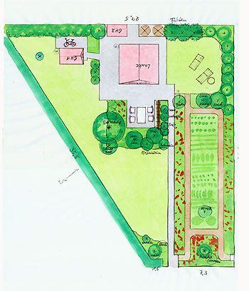 Gartenberatung Beispiele Garten Grundriss Garten Kleiner Garten