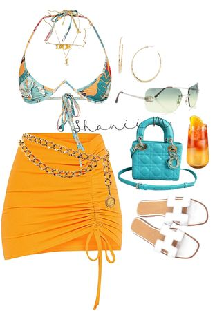 Boujee Outfits, Vacation Outfits, Dope Outfits, Cute Casual Outfits, Polyvore Outfits, Stylish Outfits, Summer Outfits, Fashion Outfits, Black Girl Fashion