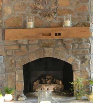 Hand Hewn Mantel Elmwood Reclaimed Timber In 2020 Reclaimed Wood Fireplace Fireplace Beam Wood Mantels