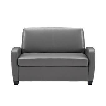 Sabine 43 31 Armless Sofa Bed Love Seat Leather Sofa Bed