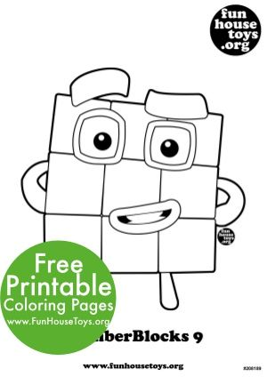 Free Numberblocks Coloring Pages Free Printable Coloring Pages Coloring Pages For Kids Coloring Pages