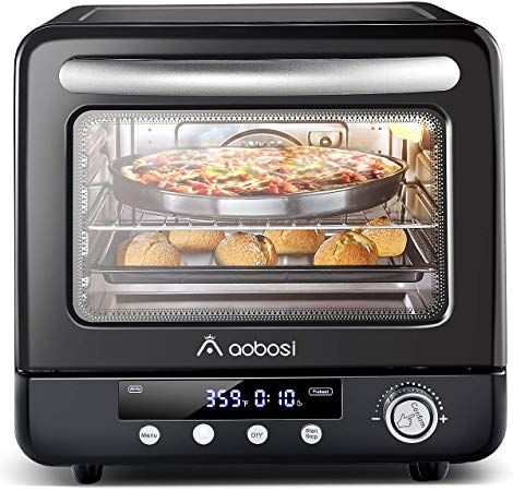 Amazon Com Air Fryer Oven Aobosi Air Oven Toaster Oven Convection