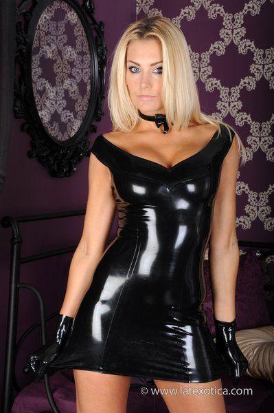 black latex rubber porn - Natasha Marley in Black Latex