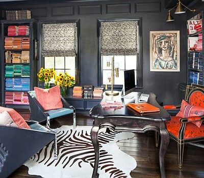 Kourtney Kardashian Home Office Decor