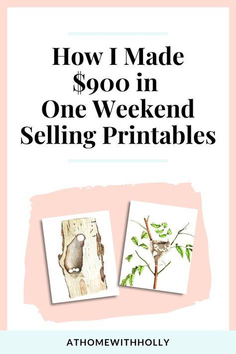 How to Make Money Selling Printable Art