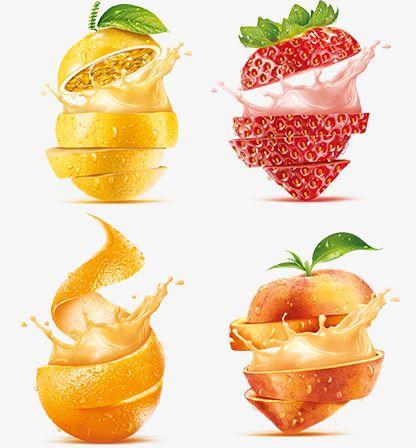Strawberry Orange Apple Splash Fruit Fruits Vector Splash Vector Fruit Splash Fruit Food Clipart