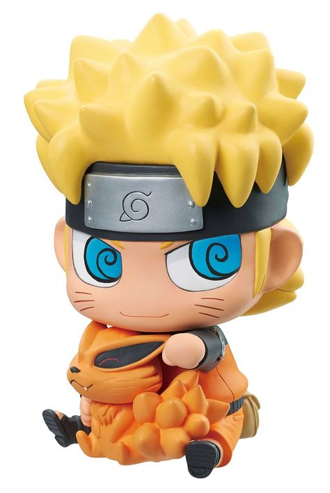 Megahouse Naruto Shippuden Naruto And Kurama Chimimega Bank