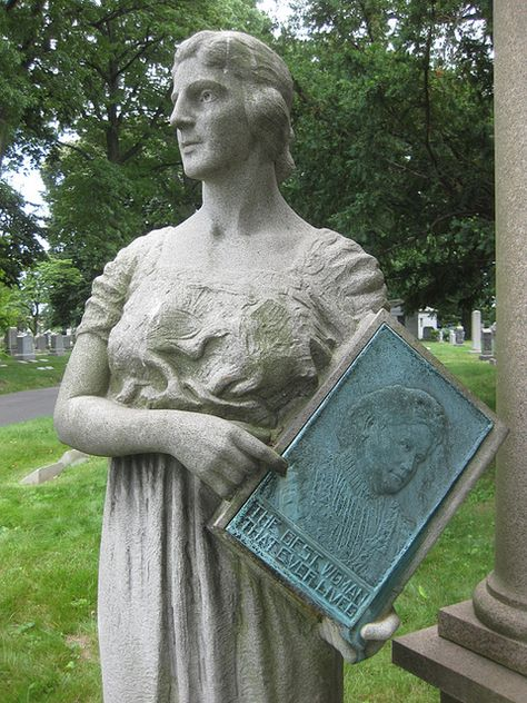 The best woman that ever lived ~ Green-Wood Cemetery, Brooklyn, New York
