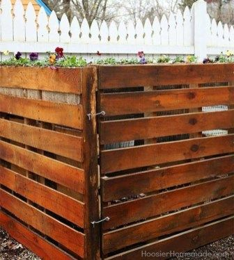 41 Hide Your Outdoor Eyeshore Project Godiygo Com Compost Bin