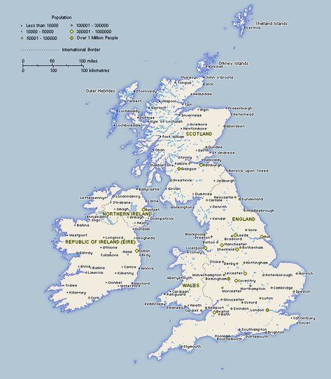 Scotland Maps Of The Uk And Ireland England Map Scotland Map - Map of ireland and england