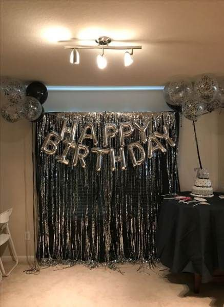 57 Ideas For Party Decorations 21st Birthday Black Gold Party