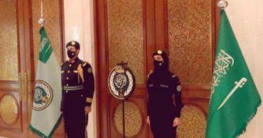 بالصور سيدة سعودية بزي الحرس الملكي تشعل السوشيال ميديا 2020 Royal Guard Joining The Military Role Of Women