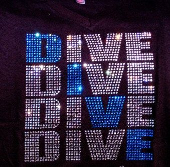 Loud and Proud Dive Mom Tank Top