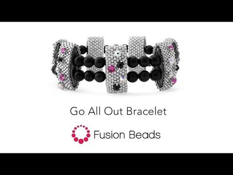 Learn how to create the Go All Out bracelet by Fusion
