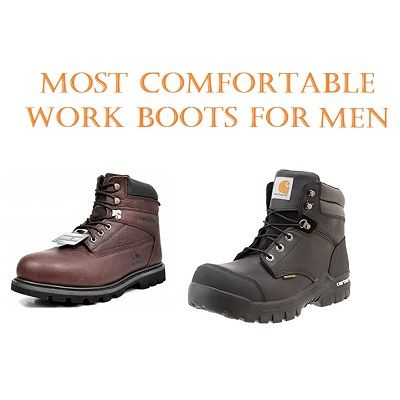 most comfortable construction shoes