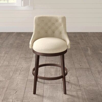 Darby Home Co Enid 24 Swivel Bar Stool Seat Height Counter Stool