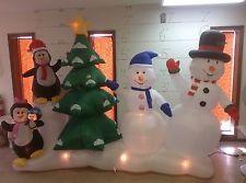 Girl hot Gemmy snowman chubby inflatable mükemmel