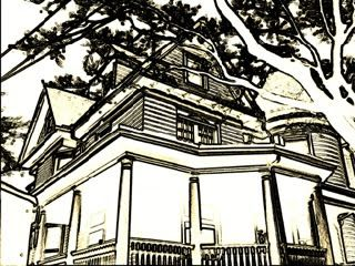 Line Art House : The helpful art teacher more beautiful two point perspective