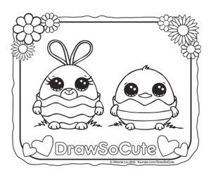 Download Easter Coloring Page Easter Coloring Pages Cute