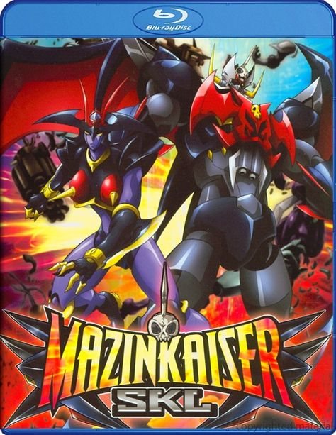 Mazinkaiser Skl Blu Ray 2010 Dvd Empire Anime Movies Marvel Cartoons Cartoon Movies
